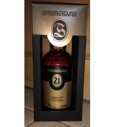 Springbank 21y edition 2017