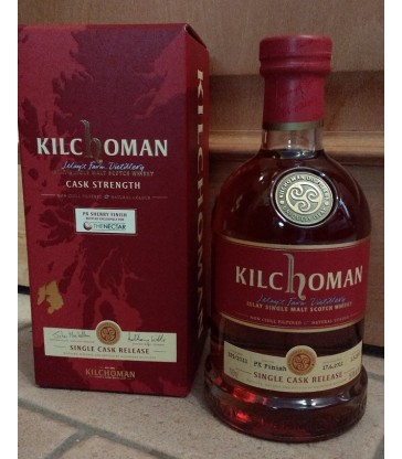 Kilchoman PX finish