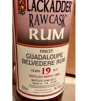 Belvedere 1998 18y Blackadder