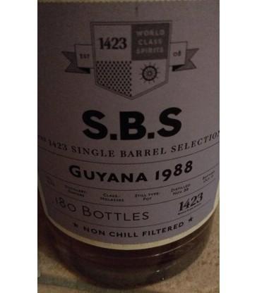1423 S.B.S Guyana Enmore 1988