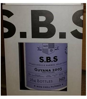 1423 S.B.S Guyana Versailles 2003