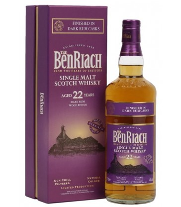 Benriach 22y Dark Rum