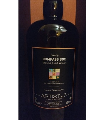 Compass Box Artist 7 (70e anniversaire Velier)