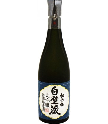 Muroka-Genshu Daiginjo