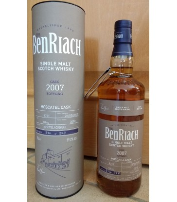 BenRiach 2007 10y batch 15 Moscatel