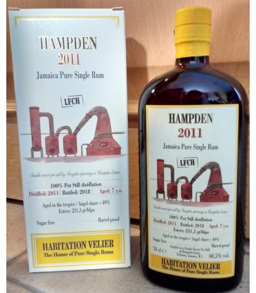 Hampden Habitation Velier 2011LFCH 4e edition