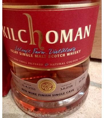 Kilchoman 2011 Redwine SC The Nectar