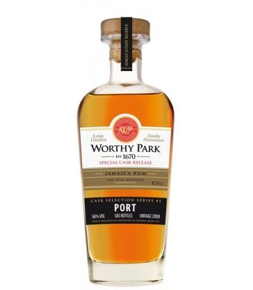 Worthy Park 2008 port Finish