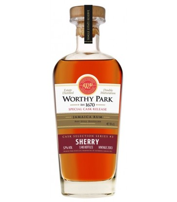 Worthy Park Sherry Finish
