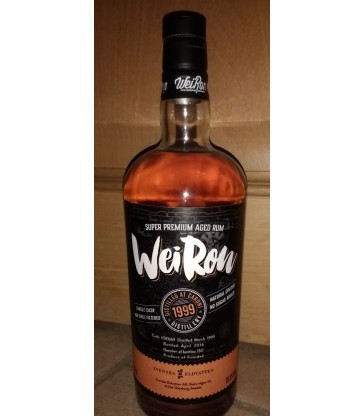 Caroni 1999 CS Rhum Swedes Weiron
