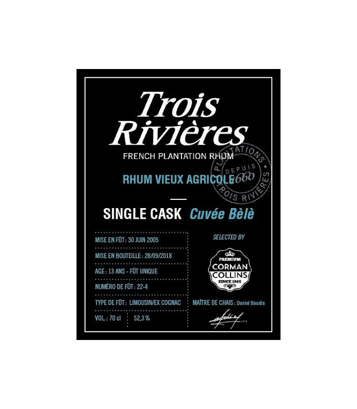 3 Rivière cuvée Bele SC 2005
