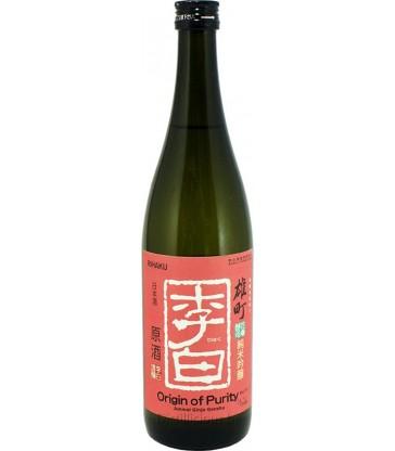 Origine de la pureté Junmai Ginjo Genshu