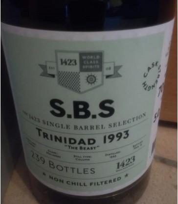 S.B.S. Trinidad 1993 Caroni