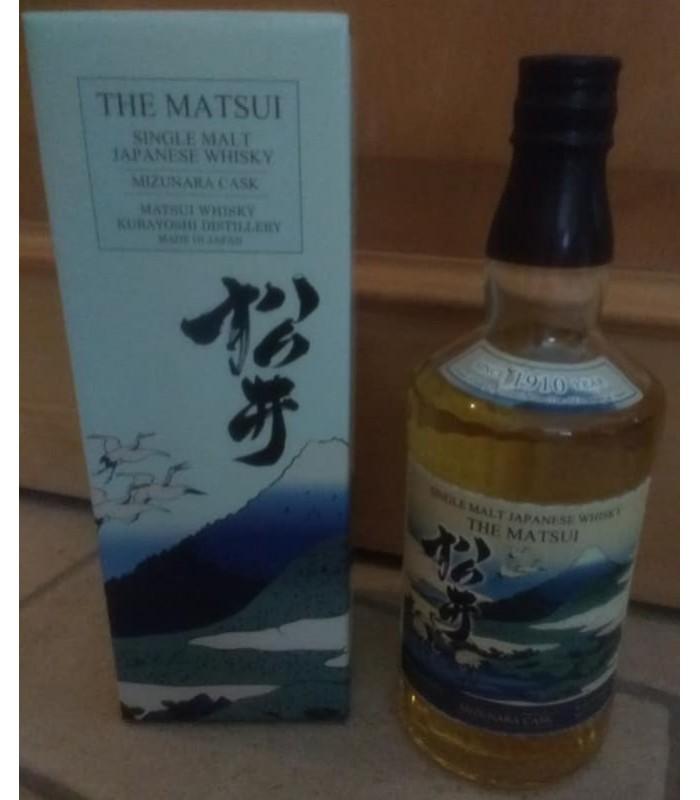 The Matsui Mizunara cask