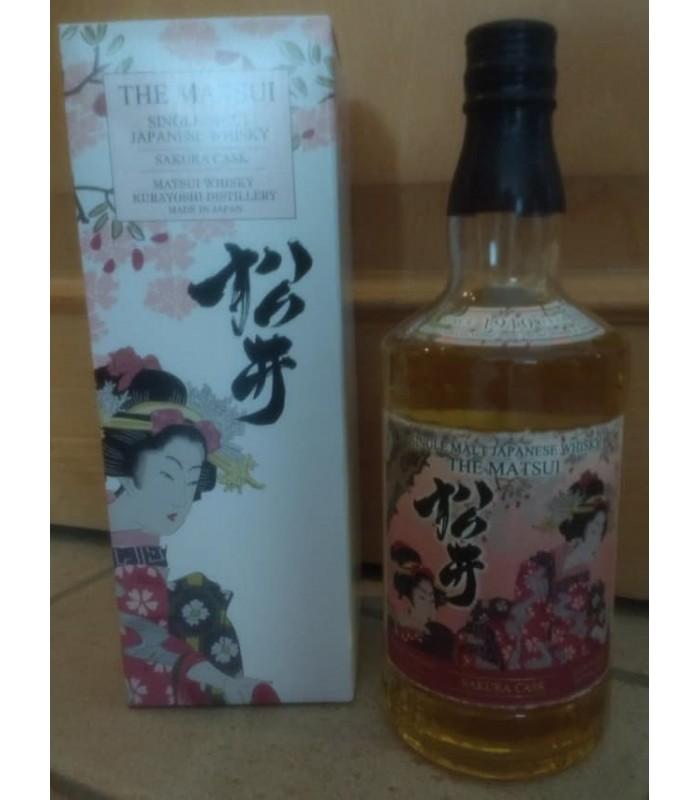 The Matsui Sakura cask