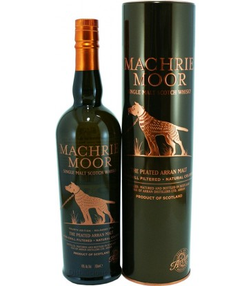 Machrie Moor 46° Peated 5th release