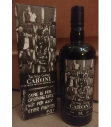 Caroni 1996 23Y Tasting Gang