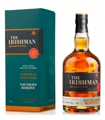 The irishman Founder's Reserve Carribean Cask Finish