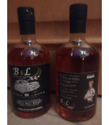 Bottles & Legends 6 ans Bourbon Cask