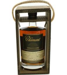 Clément SINGLE CASK vieux 100% Canne bleue Bourbon Cask
