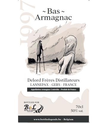Bas-Armagnac 1997 Delord Frères for Bottles & Legends