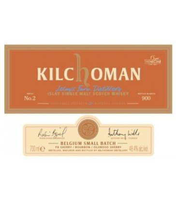 Kilchoman small Batch PX for Belgium ed 2
