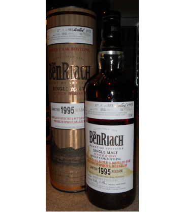 BenRiach 1995 Single Cask 5957 Belgium