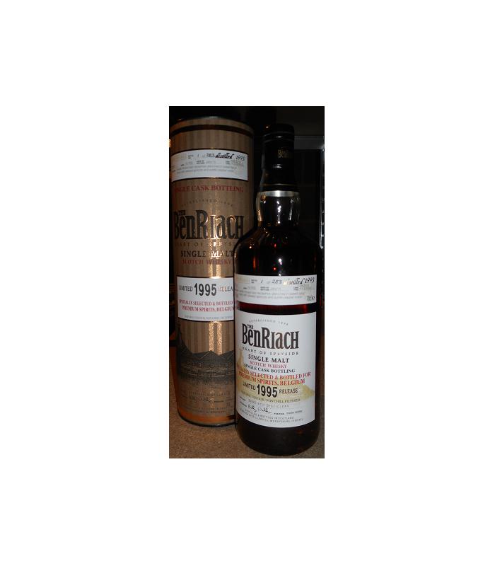 BenRiach 1995 Single Cask 5957 Belgium