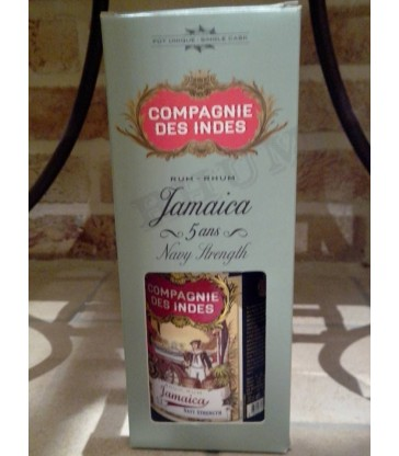 Compagnie des Indes Jamaica 5 Y Navy Strength