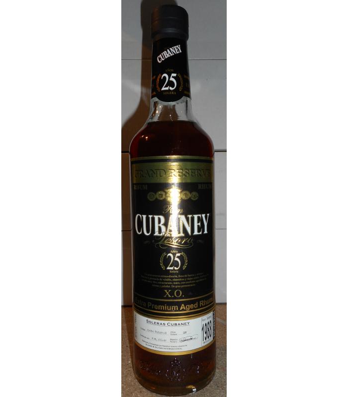 Cubaney Gran reserva 25y Tesoro
