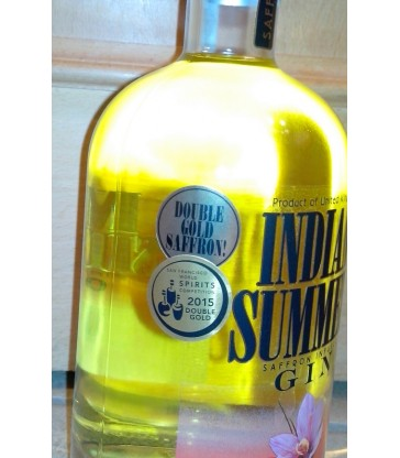 Indian Summer Saffran infused Gin