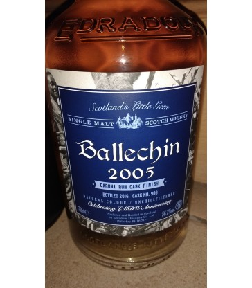 Ballechin 2005 11y Caroni Cask Finish