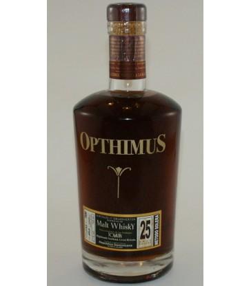 Opthimus malt whisky finish 25 ans